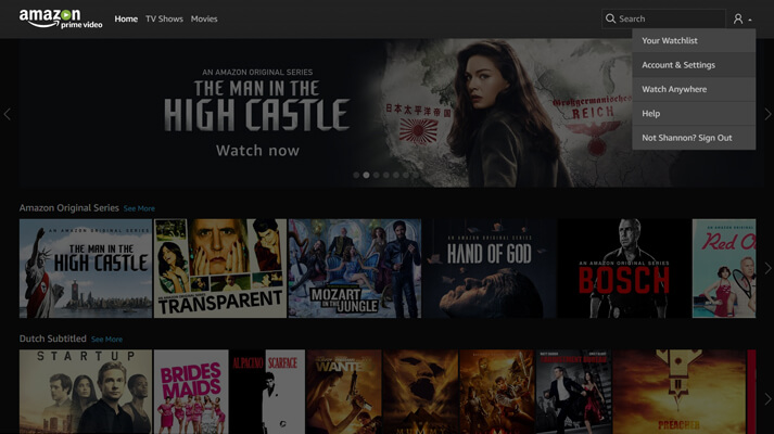 Amazon Prime Video Betalingsmethoden