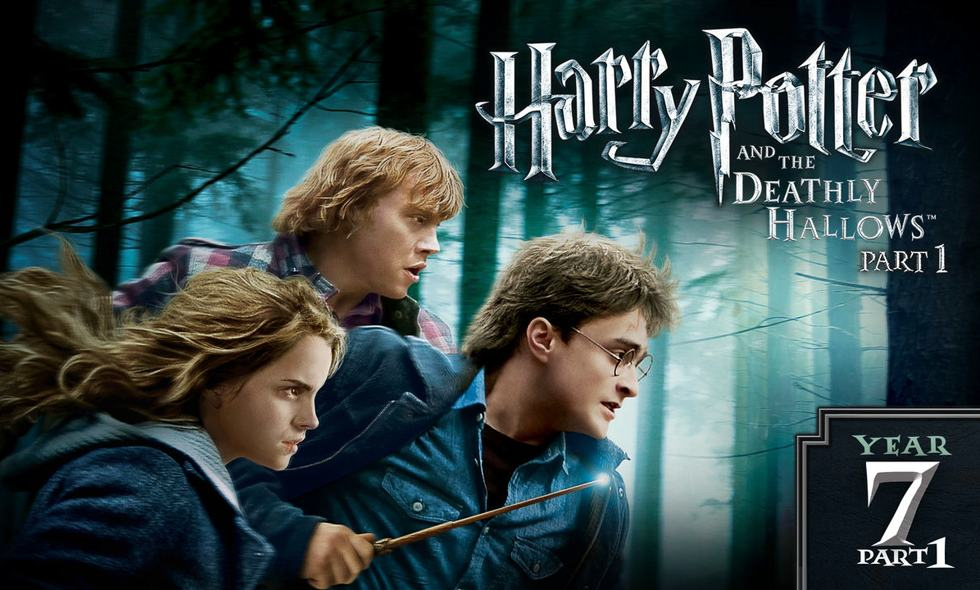 Harry Potter and the Deathly Hallows Part I Amazon Prime Video