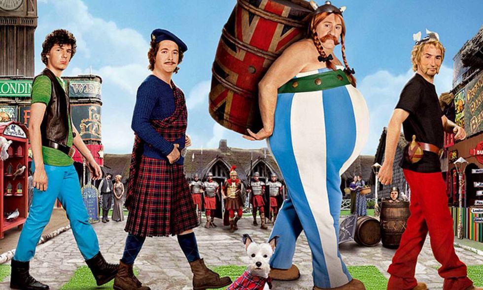 Asterix en Obelix bij de Britten Amazon Prime Video