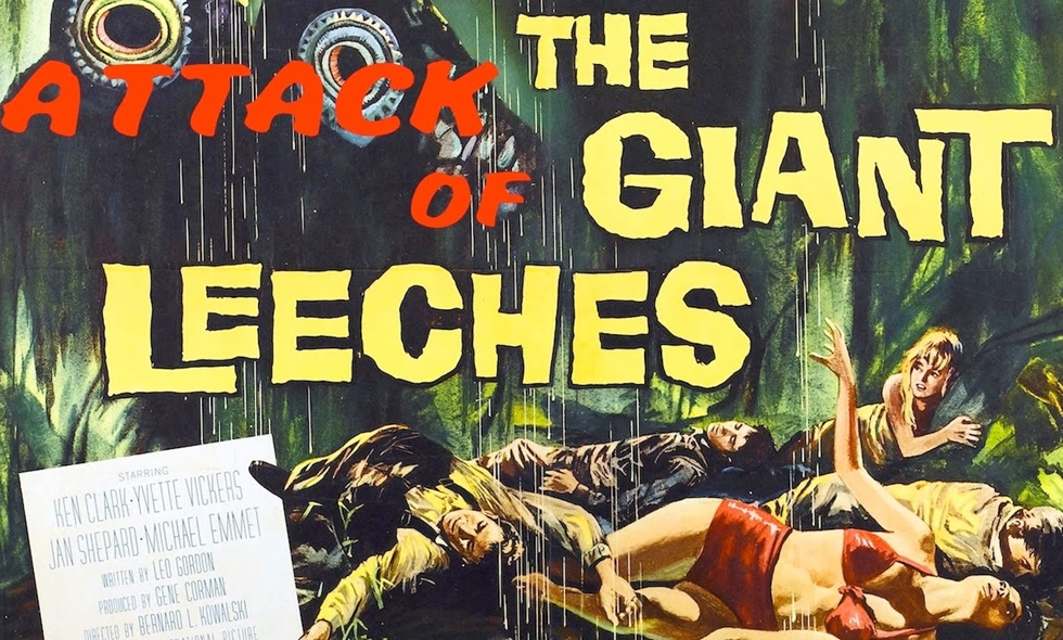 attack of the giant leeches amazon prime video